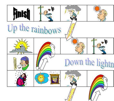 printable board game weather weather board game
