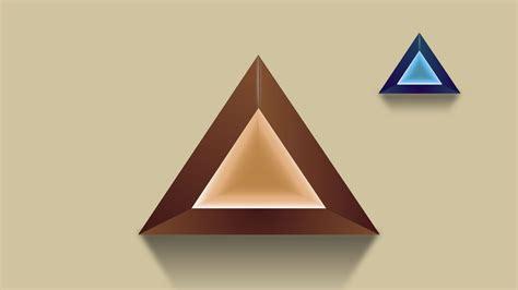 triangle pattern illustrator tutorial illustrator tutorial for beginners 3d logo design deep