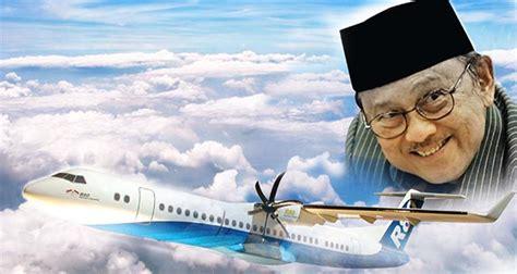 biografi bj habibie membuat pesawat bj habibie ilmuwan muslim dengan iq 200 kembali kembangkan