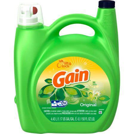 gain liquid laundry detergent, original scent, 96 loads