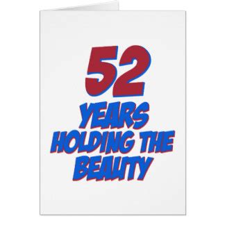 52 best images about greeting card on 52 year birthday cards zazzle