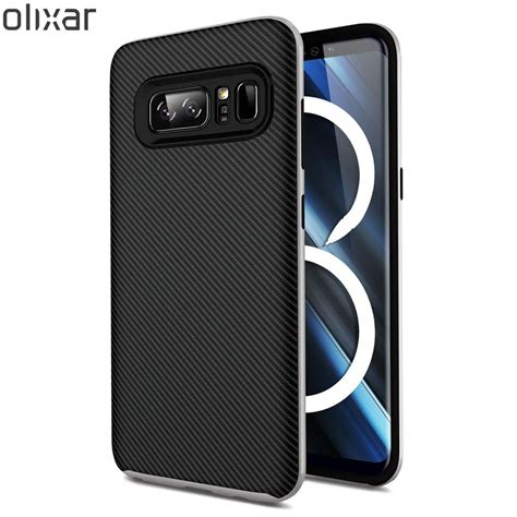 Cover Samsung Galaxy Note 8 samsung galaxy note 8 mostrato con le cover olixar tuttoandroid