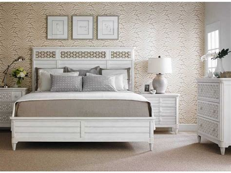 stanley furniture cypress panel bed bedroom set sl4512340set