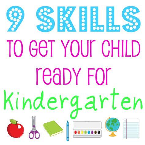 kinder garten 9 skills to get your child ready for kindergarten