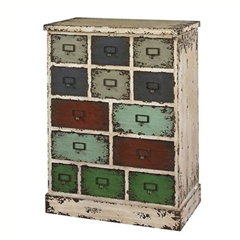 Powell Company Parcel 13 Drawer Cabinet Forrealdesigns