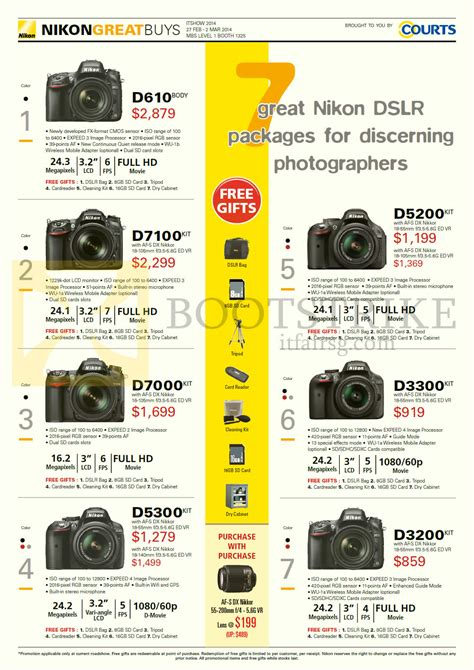 nikon digital price list list of nikon dslr cameras about