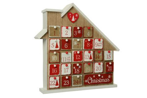 advent house wooden christmas advent house cancer research uk online shop