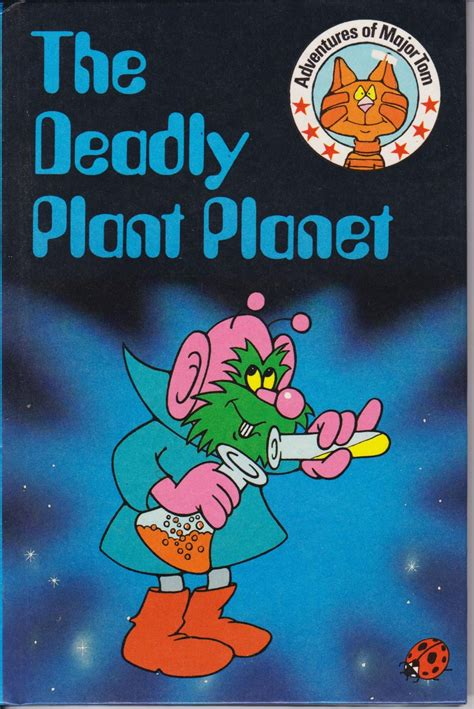 major tom books the deadly plant planet ladybird book major tom series 814