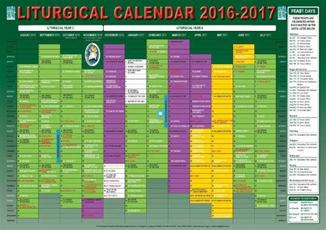 Episcopal Liturgical Calendar 2015 Scottish Catholic Education Service Sces Liturgical