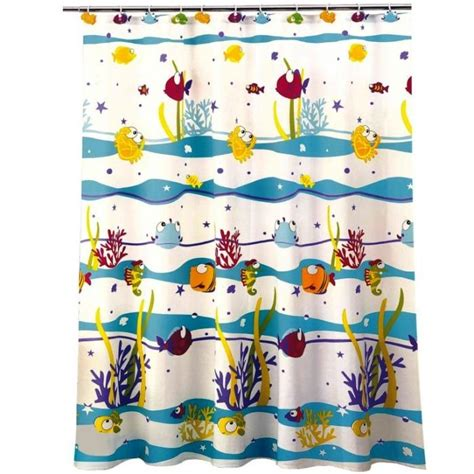 kids fish shower curtain 15 wonderful themed shower curtains for kid s bathroom