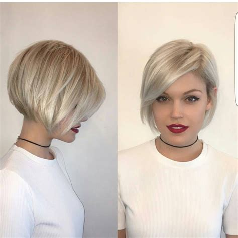 short hairstyles on instagram beautiful short bob hairstyles and haircuts with bangs