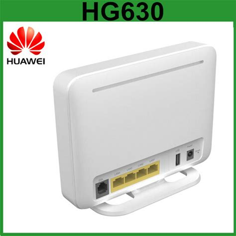 Modem Huawei Wireless high performance dsl modem huawei hg630 adsl2 vdsl wifi
