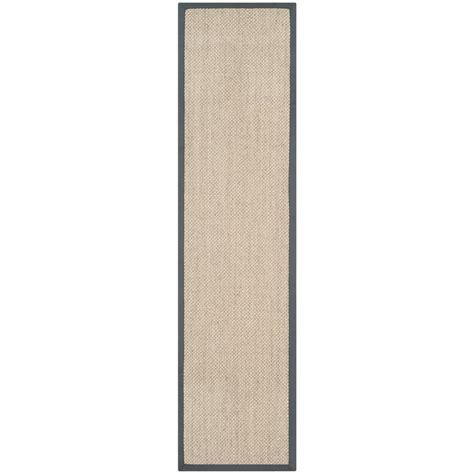 10 by 10 fiber rug safavieh fiber marble grey 2 ft x 10 ft runner