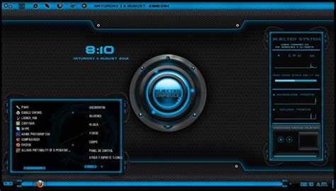 injected capsule for windows 7 pc themes free windows 7 tema futurista para windows 7 injected capsule