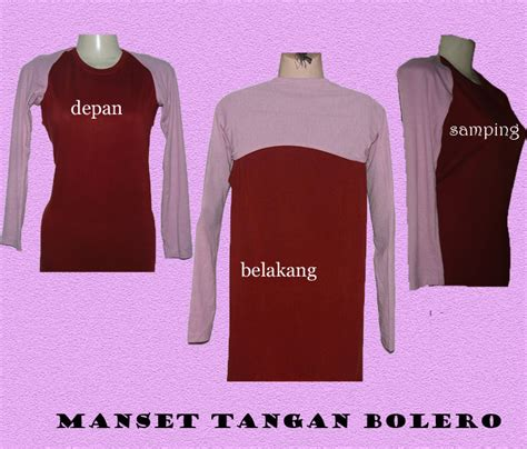 Dress Rompi 2 Pcs Dalaman Tangan Pendek chie collection manset tangan bolero manset rompi