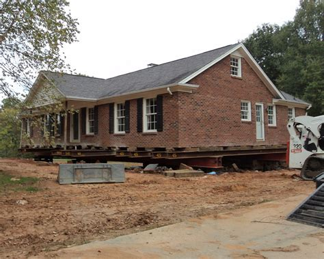 house movers in nc brick house move oak ridge nc blake moving rigging