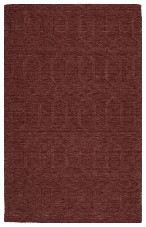kaleen rugs kaleen imprints modern ipm03 55 cinnamon rug