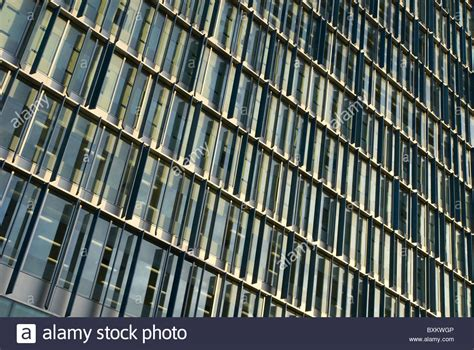 facade pattern in c abstract pattern of new building facade london uk stock