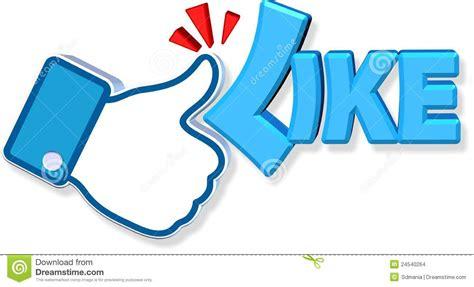 Or Like Like Design Editorial Stock Image Illustration
