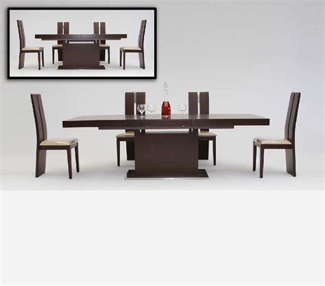 Extendable Dining Table India by Dreamfurniture Com Zenith Modern Red Oak Extendable