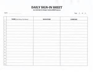 contractor s daily sign in sheet 7 99 download now