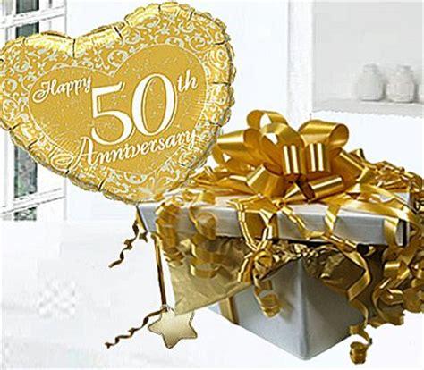 golden wedding happy  anniversary helium balloon