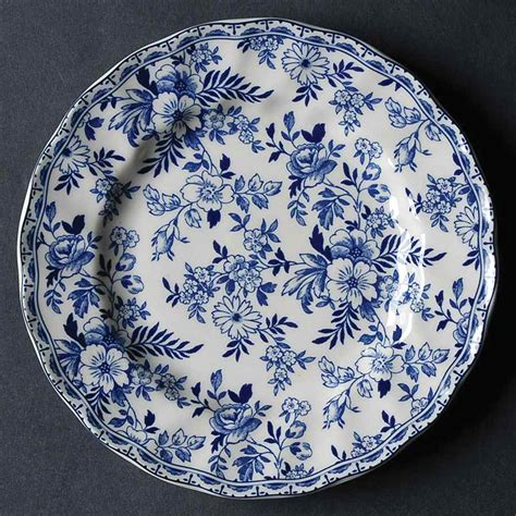 devon cottage bread butter plate by johnson brothers
