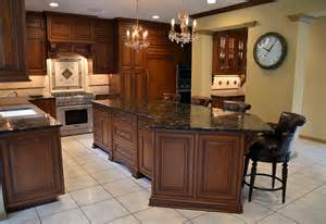 large kitchen island traditional design line kitchens in sea girt nj