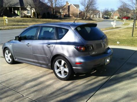 """sell used 2004 mazda 3 s hatchback, sunroof, 17"""" alloy"""