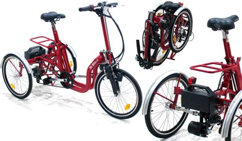 Di Blasis Motorized Folding Tricycle by Electric Folding Tricycle Di Blasi Mod R34