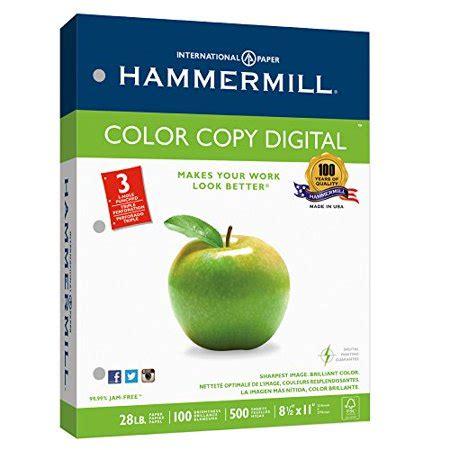 hammermill color copy digital hammermill paper color copy digital 28lb 8 5 x 11 3