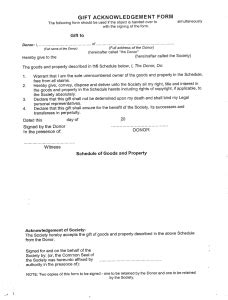 deed of gift template australia managing local collections useful resources
