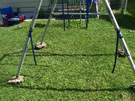broken swing set flooding and playground equipment what s been happening