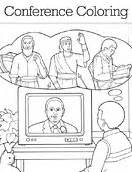 coloring pages for lds general conference the church of jesus christ of latter day saints