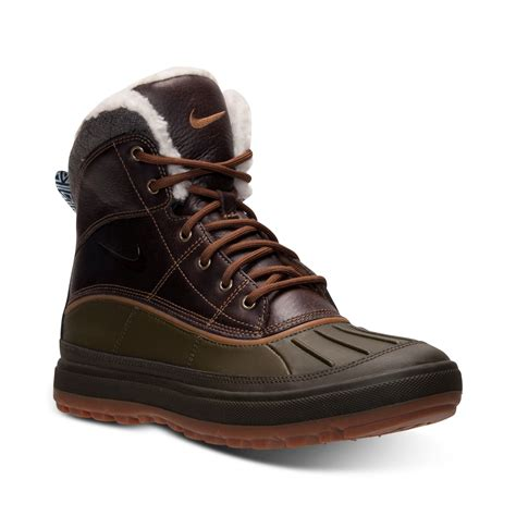 nike sneaker boots mens nike mens woodside ii boots from finish line in black for