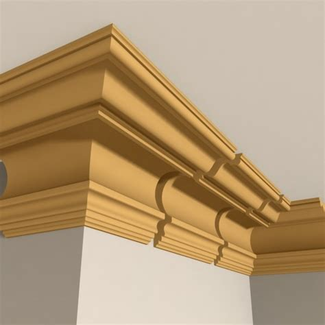 cornice molding 3ds max interior cornice molding