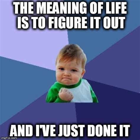 Definition Of Memes - the meaning of life imgflip