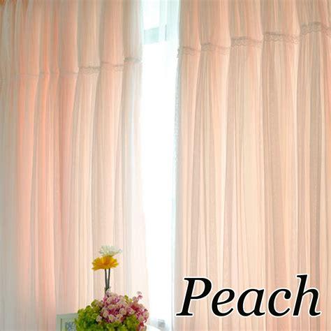 peach kitchen curtains ruffle curtain