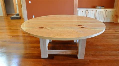 Pine Dining Room Tables by Round Pine Dining Table Rustic Dining Room San