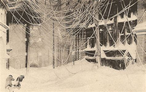 the great blizzard of 1888 the biggest new york snowstorm
