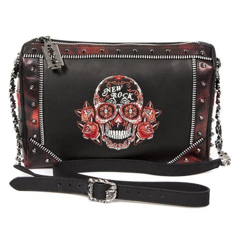 High Heels Lys 760 Blackkelly m bag056 s2 new rock handbag with sugar skull trim