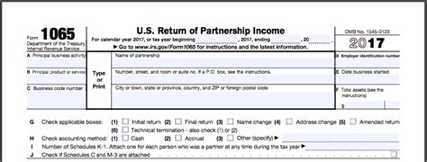 tax code section 83 how to complete form 1065 with instructions