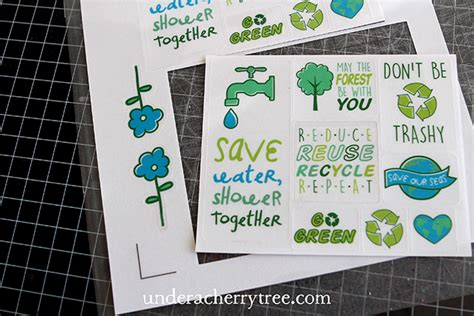silhouette printable clear sticker paper laser under a cherry tree how to cut clear sticker paper