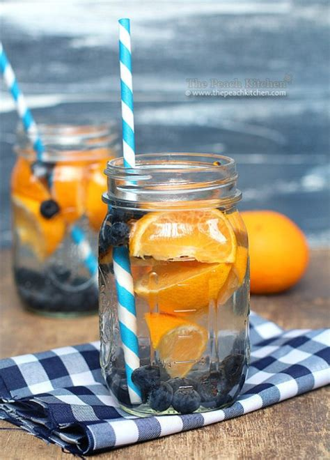 Detox Water With Blueberries by 20 Delicious Detox Waters To Cleanse Your And Burn