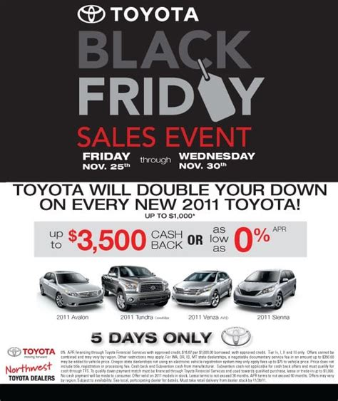 black friday sales event peterson toyota scion of boise