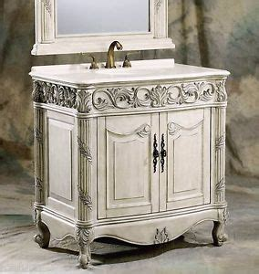 antique style bathroom vanities 36 inch antique style single sink bathroom vanity cabinet