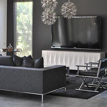 yellow sofa dark pillows dark rug grey cabinet and black extra long gray sofa with black ikat pillows cottage
