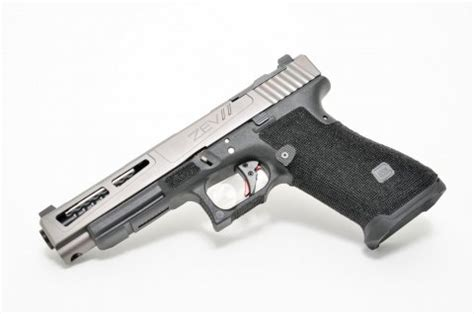 zev technologies zev custom prizefighter glock 34 9x19mm