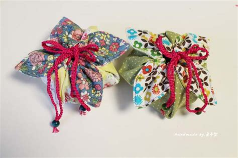 fabric gift pouch tutorial diy