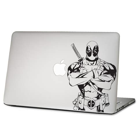 Apple Aufkleber Laptop by Deadpool Laptop Macbook Sticker Aufkleber